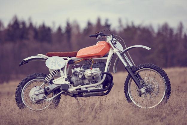 Wang Motorcycles' classic BMW R80 G/S enduro