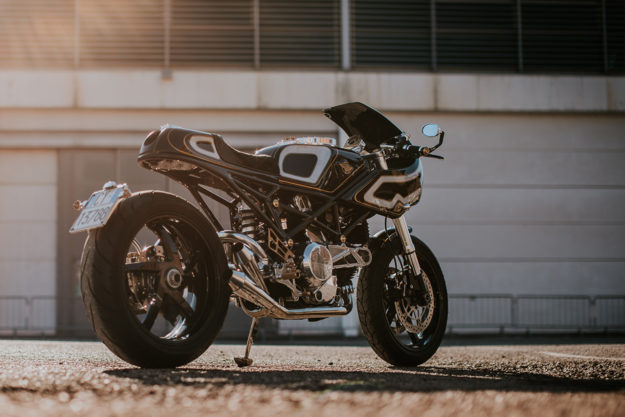 Ducati Monster S2R cafe racer by Customcreations