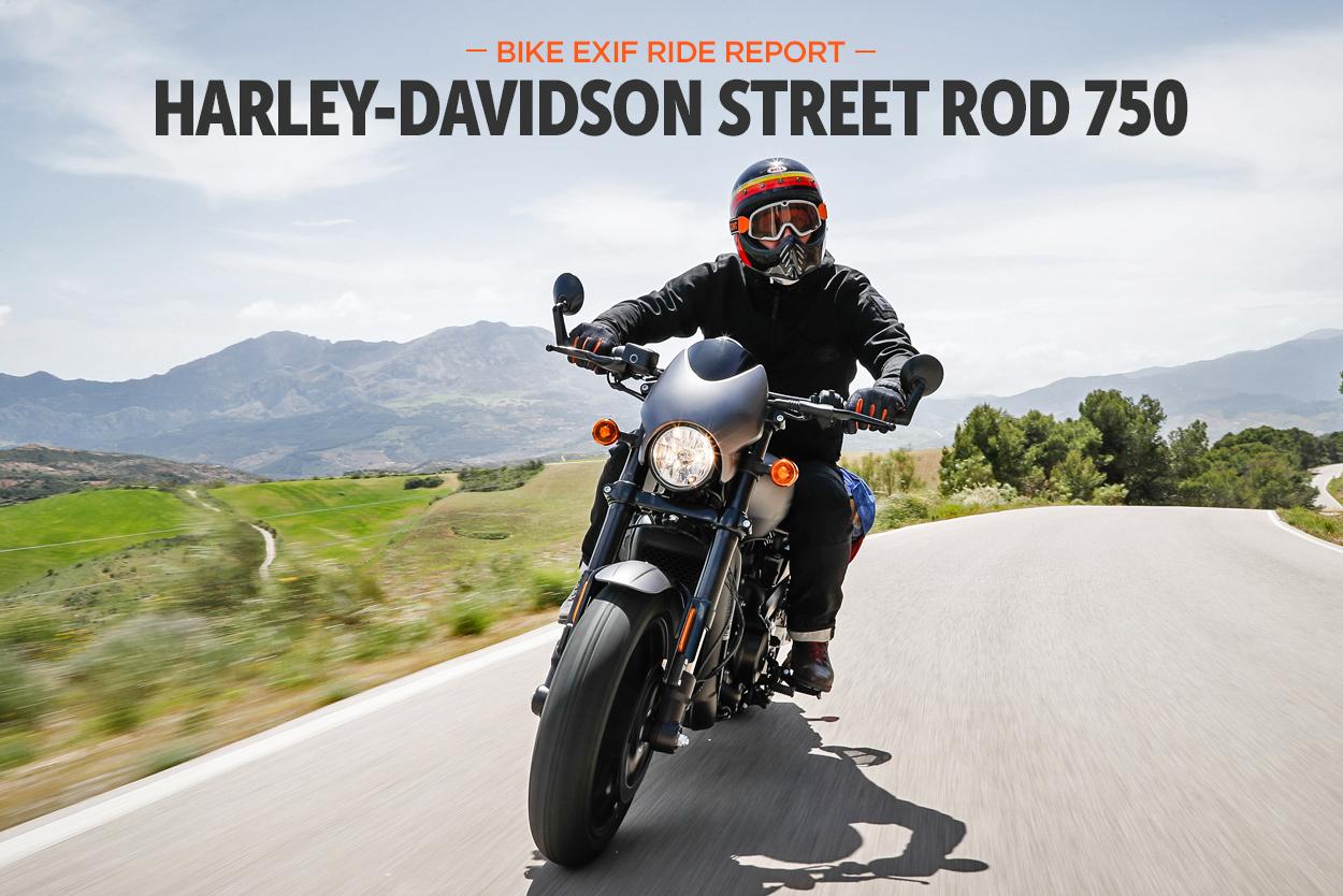 Ride Report: The 2017 Harley-Davidson Street Rod 750