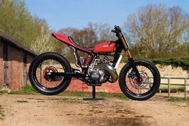 Honda CR500 tracker by Thornton Hundred Motorcycles