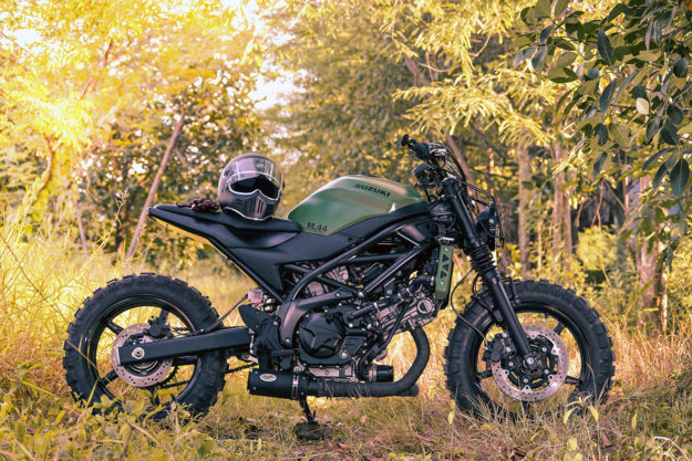 Custom Suzuki SV650 by K-Speed