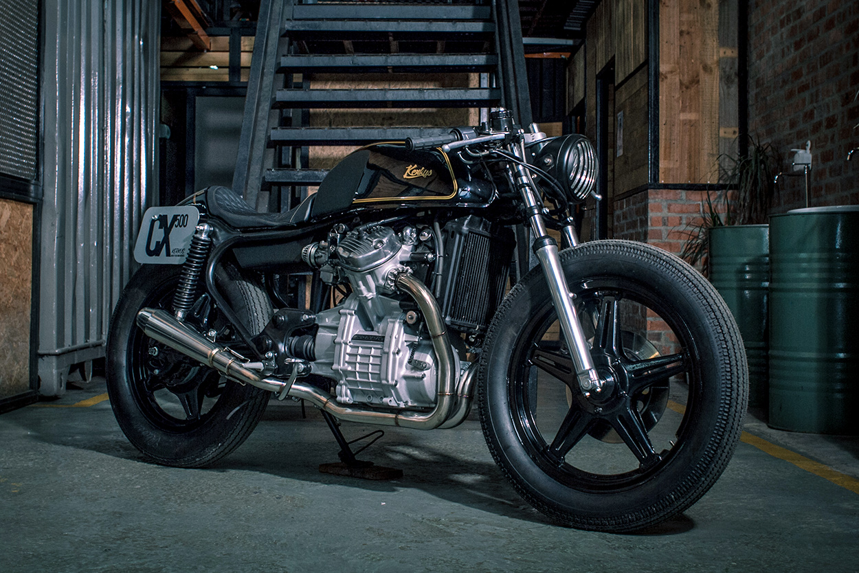 Kerkus reworks the Honda CX500
