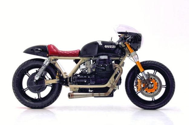 Moto Guzzi 850 by Herencia Custom Garage