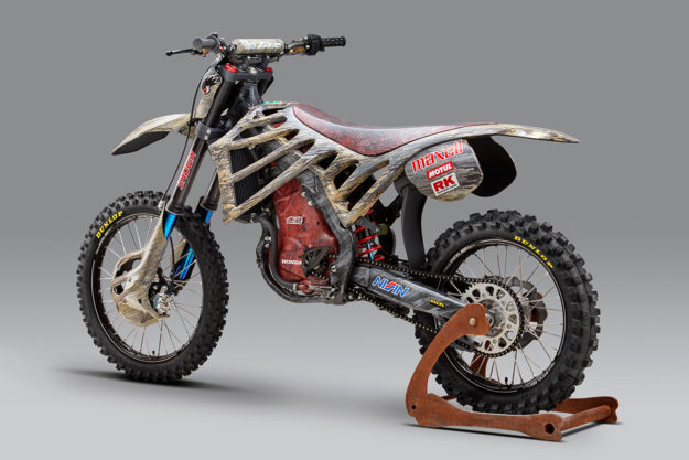 Mugen E.Rex electric motocross bike