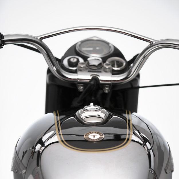 Stunning Royal Enfield Bullet 350 scrambler by Thrive Motorcycle