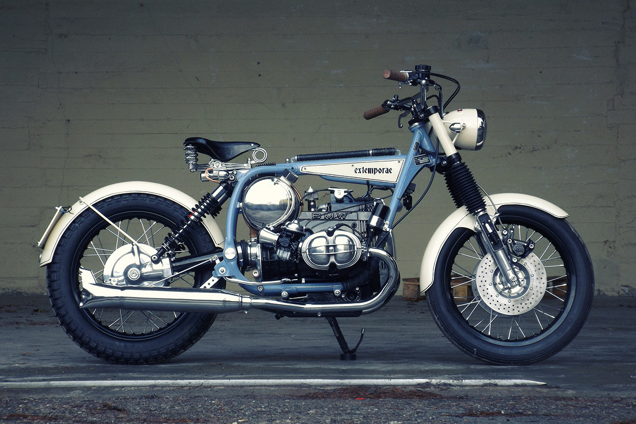 Time Traveller: The BMW R45 reimagined, 1930s style