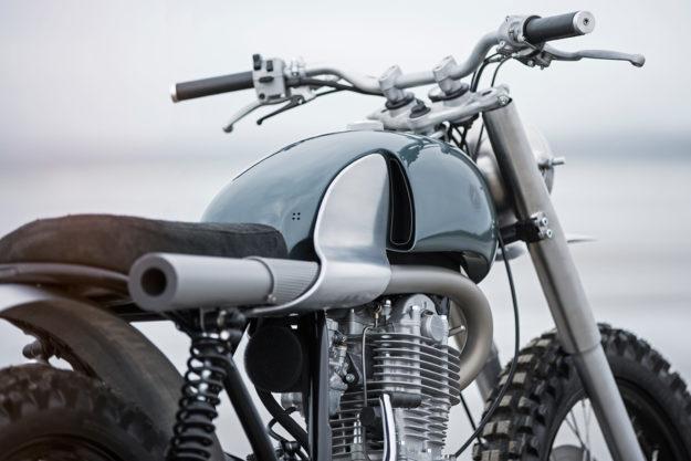 Design masterpiece: Yamaha SR scrambler by Auto Fabrica
