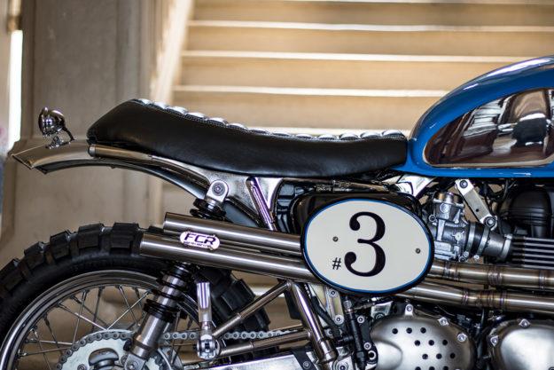 Customized 2016 Triumph Bonneville, ISDT style