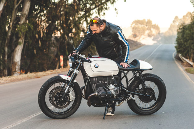 Mark Johnston's BMW R100RT cafe racer