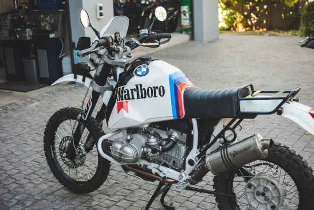 Mark Johnston's BMW R80G/S