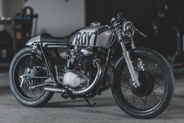 Nifty Two-Fifty: Hookie Co.'s Honda CB250 cafe racer