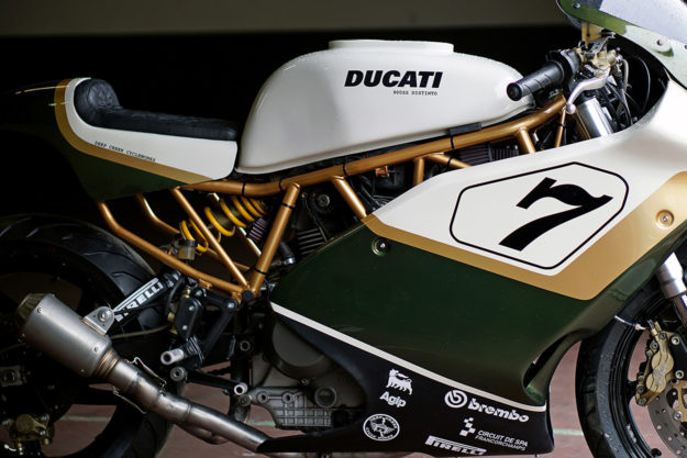 Customized Ducati racer by Deep Creek Cycleworks