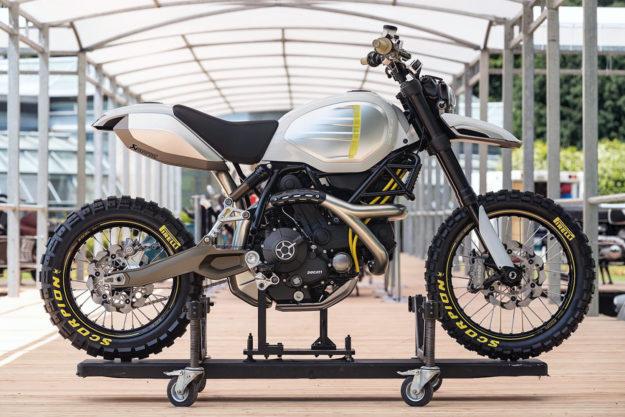 Scrambler Ducati Concepts: Desert Sled