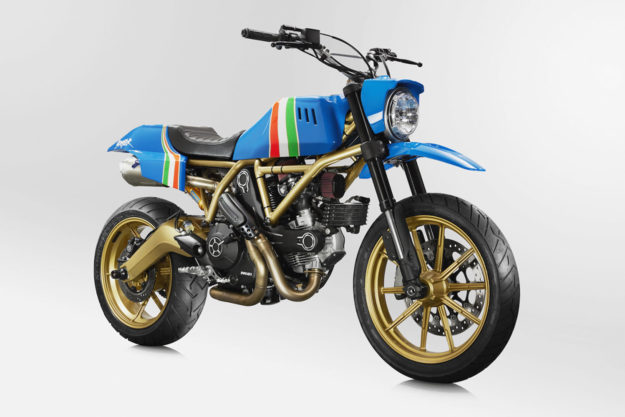 Ducati Scrambler by Grime and Marin Speed Shop