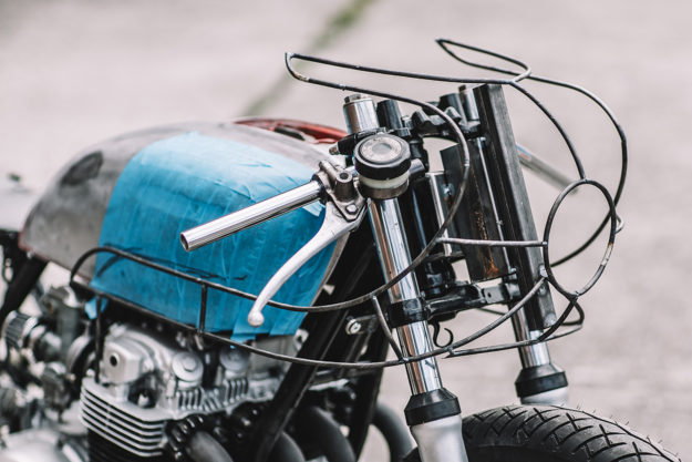 Honda CB550 cafe racer by Hookie Co.