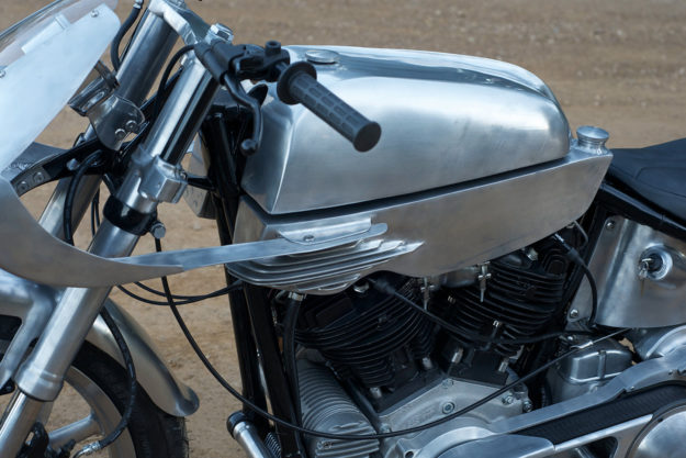 Matt Machine's Born-Free Harley motorcycle