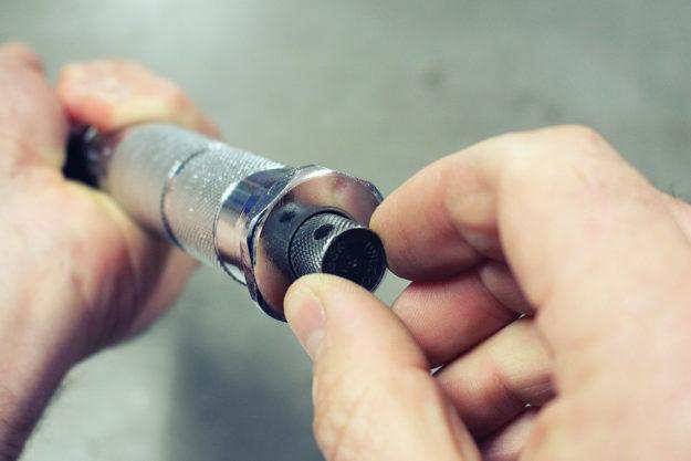 Torque wrench locking nut