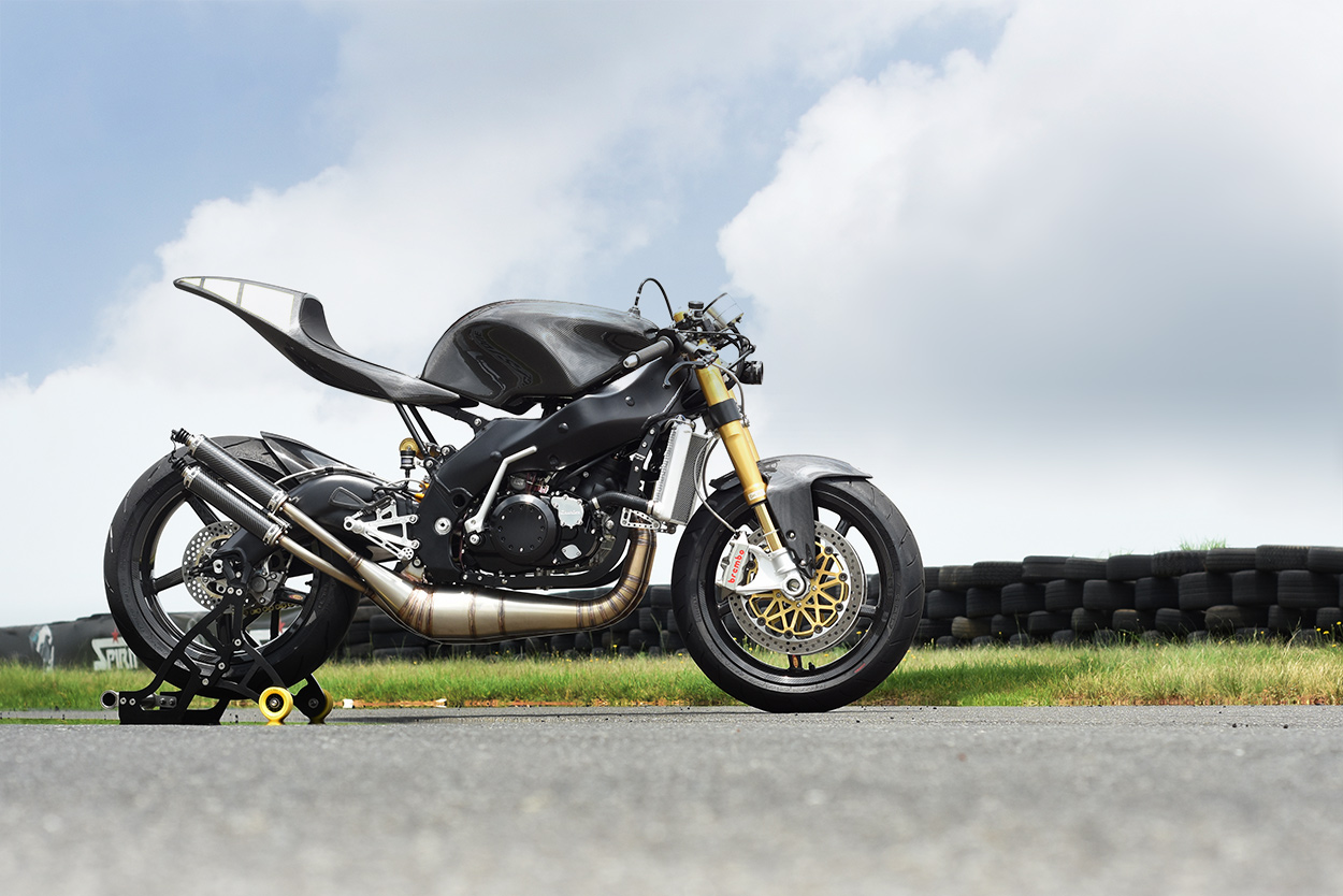 This 'Yamaprilia' is the Maddest Two-Stroke On The Track