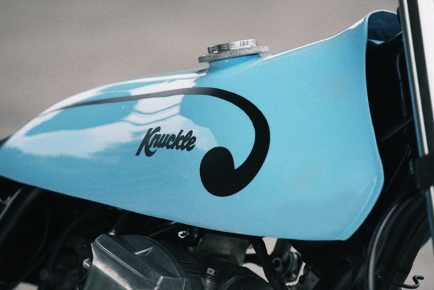 Knuckle Whackjob's Yamaha Scorpio is Part Scrambler, Part Chop