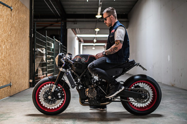 Son of Time: Ironwood's Yamaha XSR700 cafe racer, built for TW Steel