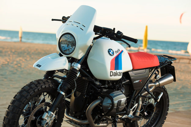 Unit Garage gives the BMW R nineT the Paris-Dakar treatment
