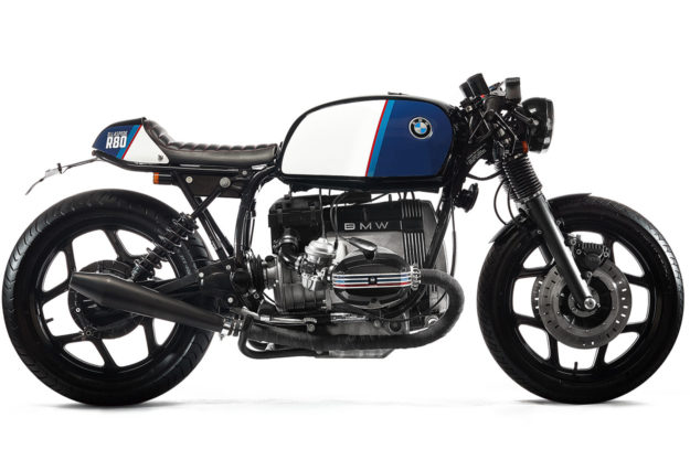 BMW R80 cafe racer by Ellaspede