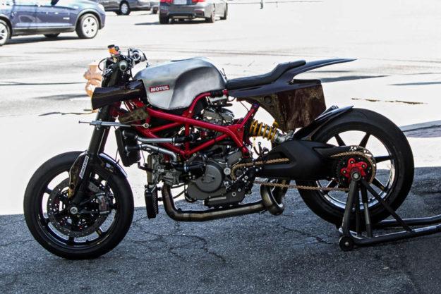 Ducati Hypermotard Pikes Peak racer by Deus