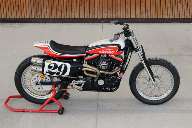Harley-Davidson Sportster tracker by Breizh Coast Kustoms