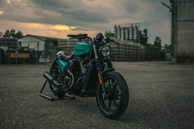 Custom Harley Street 750 tracker by NCT Motorcycles