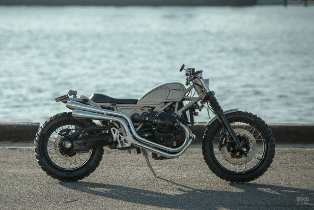 Custom BMW R nineT Scrambler by Heiwa of Japan