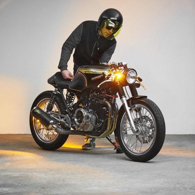 Honda GB500 TT cafe racer by 271 Design