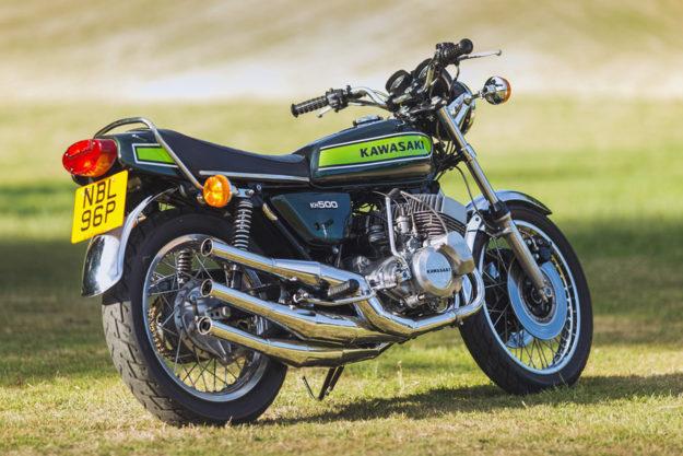 Kawasaki KH500 by Allen Millyard