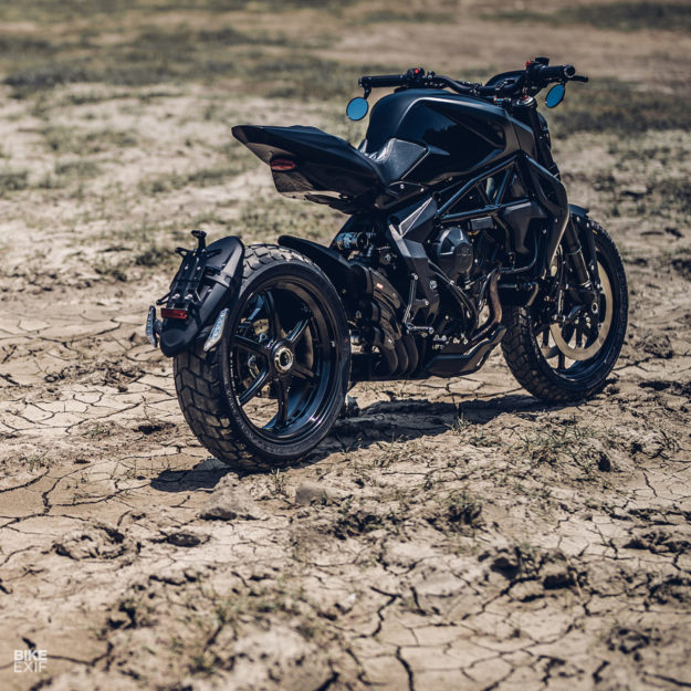Rough Crafts turns the MV Agusta Dragster into a street scrambler