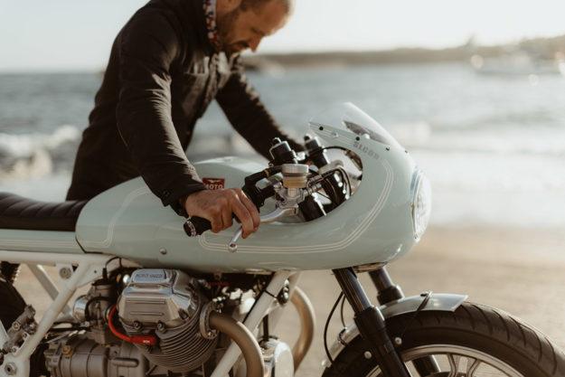 Custom Moto Guzzi V1000 G5 by Sur Les Chapeaux De Roues