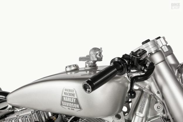 Iron Riot: Harley-Davidson Softail custom by One Way Machine