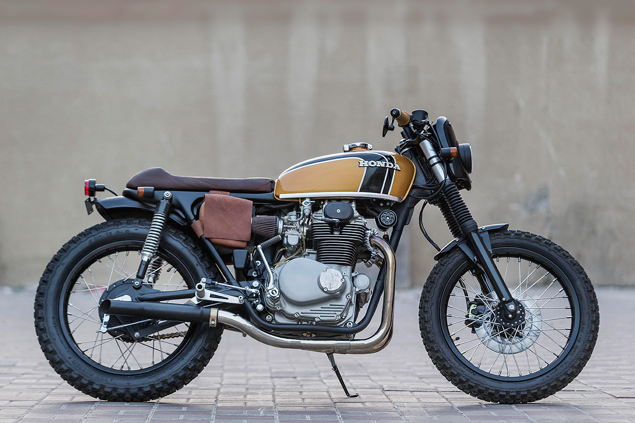 From Texas barn find to the Persian Gulf: Antonie Robertson's CB350