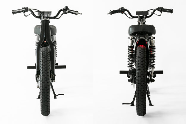 Honda electric motorcycle by Shanghai Customs