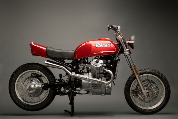 Honda GL500 Silver Wing by Other Life Customs