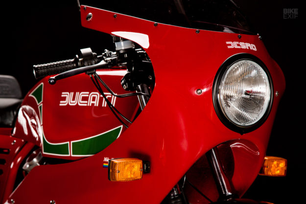 As New: A Ducati Mike Hailwood Replica brought back to life by Revival Cycles