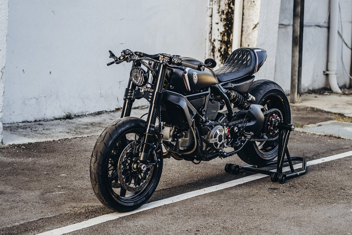 A Superlight Scrambler Ducati from Rough Crafts   Brocks