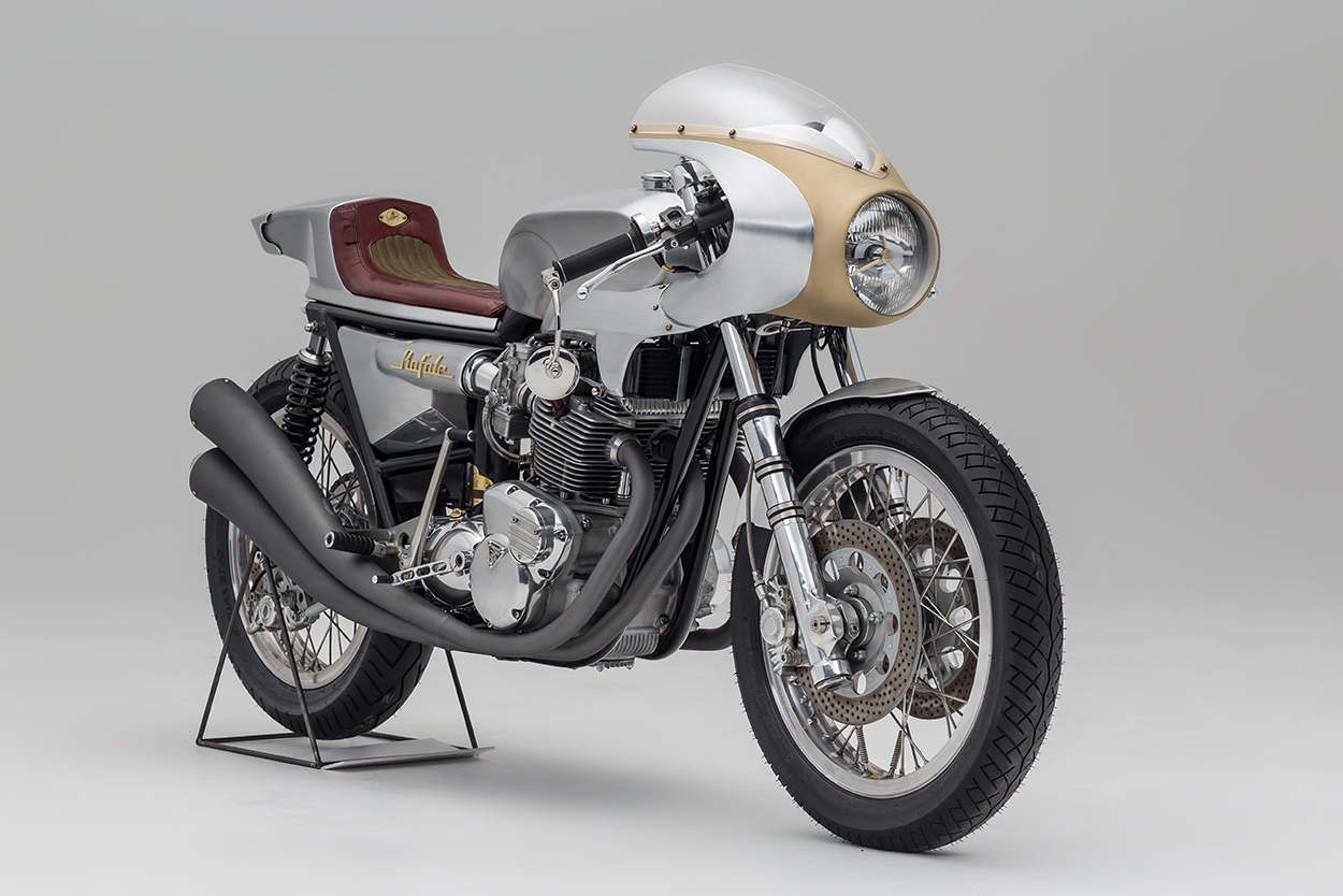 Blast From The Past Storik S Triumph Cafe Racer Rafale Bike Exif