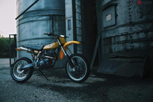 Yamaha XT 600 restomod by Nicolò Pego
