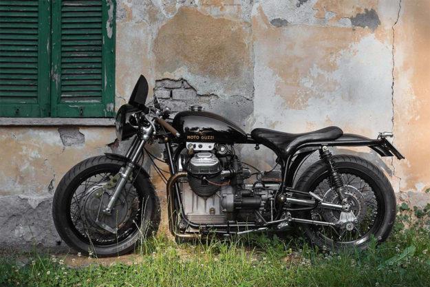 Custom 1970 Moto Guzzi V7 Special by Davide Caforio