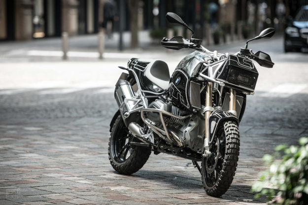 'Ride Rough and Remote' by Cherry's Company: Not your usual BMW R1200GS modifications
