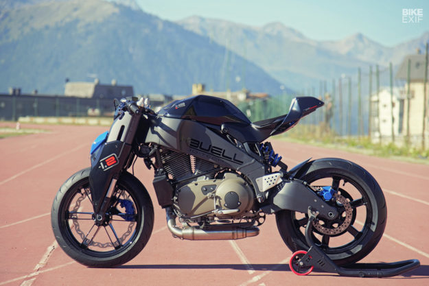 Using CAD to customize a motorcycle: Buell XB12 by Paolo Tesio