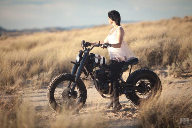 Custom Yamaha TW125 by Dumbador of Spain