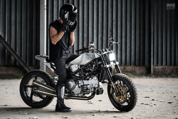 Custom Ducati Monster S4R by Anvil Motociclette