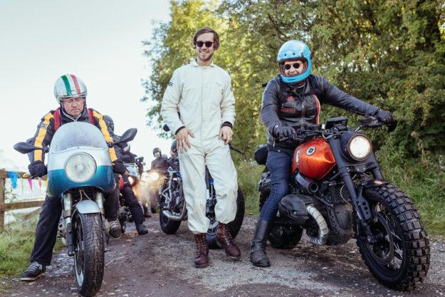 Motorcycle photographer Mihail Jershov of London