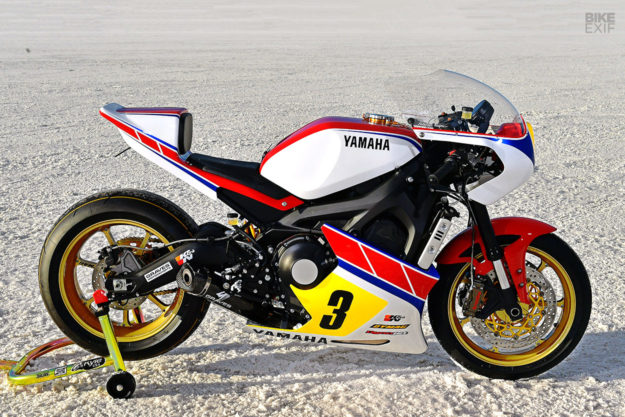 Yamaha Yard Built XSR900 by Jeff Palhegyi Designs