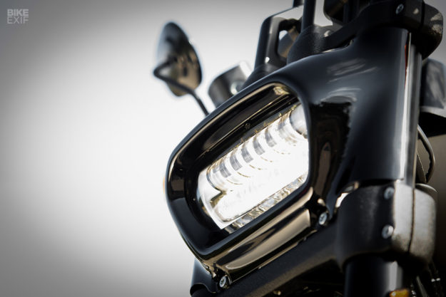 2018 Harley-Davidson Softail Fat Bob headlight